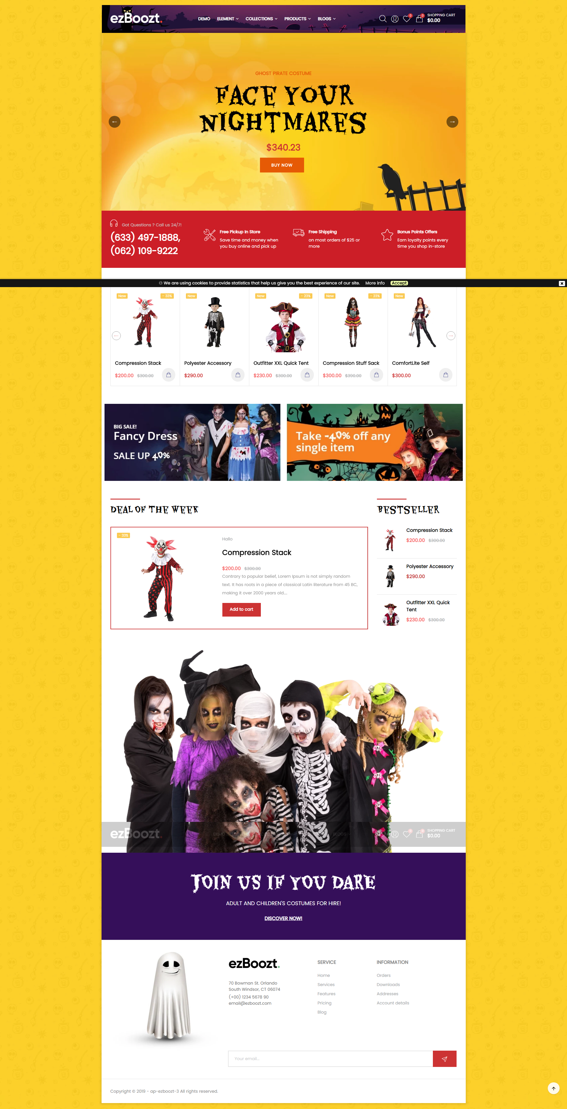 AP Halloween - Free Fashion & Modern Shopify Theme
