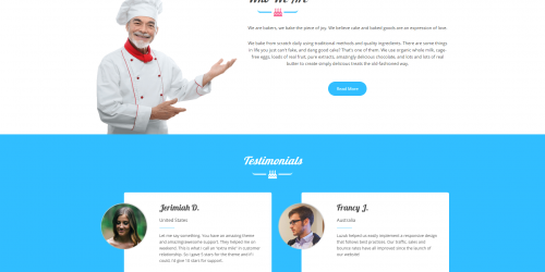 Panadero Bakery - Free Colorful & Gorgeous WooCommerce Theme