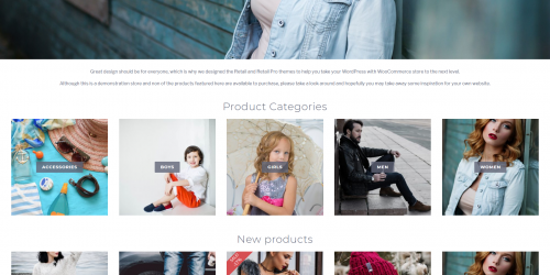 Retail - Free Clean and Uncluttered WooCommerce Theme