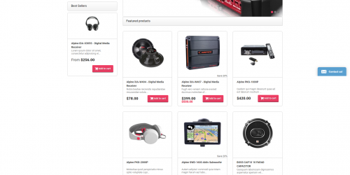 CarAudio - Free Fashion & Accessories Shopify Theme