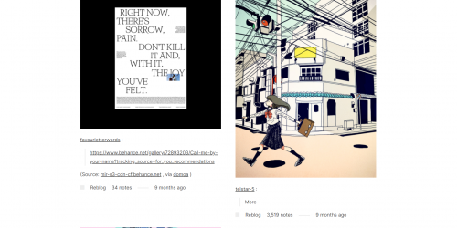 Hachiman - High Resolution Tumblr Theme