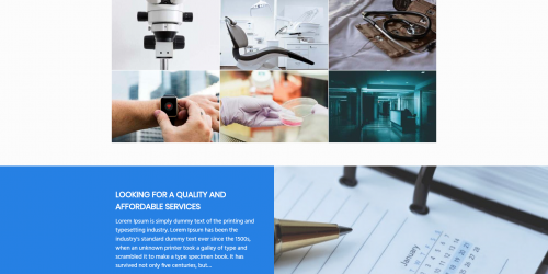 Medical Hospital Lab - Free Professional Medical Wordpress Theme