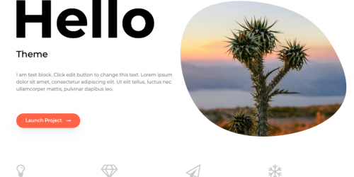 Hello - Fast, Minimal & Simple WordPress Multipurpose Theme