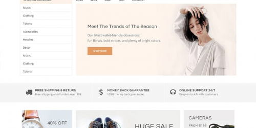 Daisy Store - Free Elegant & Simple WooCommerce Theme