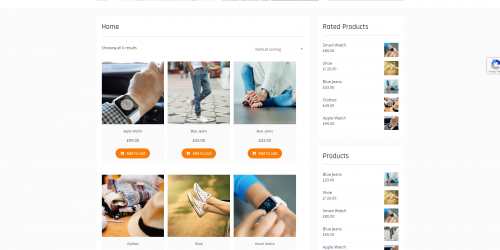Clean Commerce - Free Simple & Responsive WooCommerce Theme