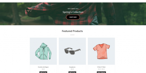 Di eCommerce - Free Responsive & Fully Customizable WooCommerce Theme
