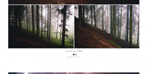 Visual Artists - A minimal and responsive Tumblr theme
