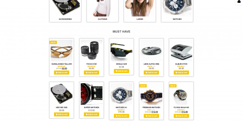 WebStore - Free Responsive & Simple WooCommerce Theme