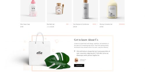 Ellie - Free Minimal & Multipurpose WooCommerce Theme