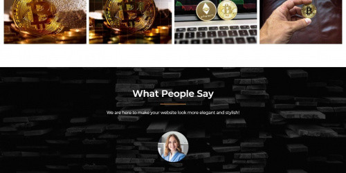 Cryptocurrency Exchange - Free Elegant Multipurpose WordPress Theme