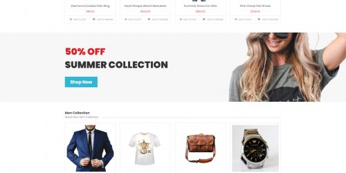 EasyStore - Free Clean & Responsive WooCommerce Theme