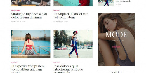 Cali - Free Beautiful Responsive WordPress Blog Theme