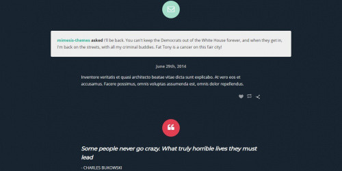 Zeph - Free Modern Tumblr Blog Theme