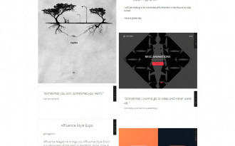 Nara - Free Elegant Tumblr Photo Blog Theme