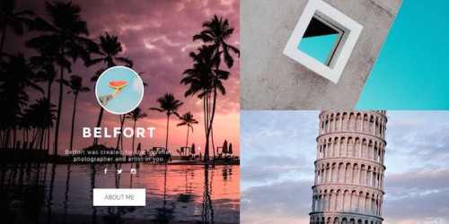 Belfort - Free Elegant Tumblr Blog Theme