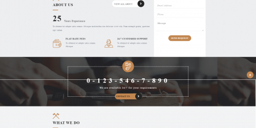 VW Furniture Carpenter - Free Responsive & Elegant WooCommerce Theme