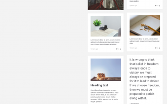 Sugar - Grid theme with responsive layout