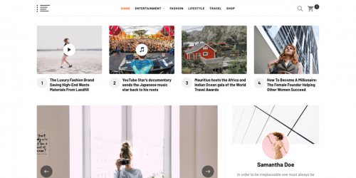 Blog Prime - Free Elegant and Responsive Magazine WordPress Theme