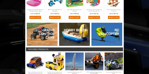 LZ Toy Store - Free Colorful & Creative WooCommerce Theme