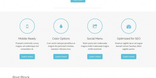 Arcade Basic - Free Lightweight WordPress Corporate Theme