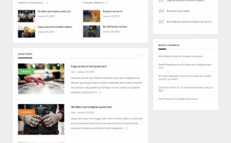 GreatMag - Free Modern Blogging WordPress Theme