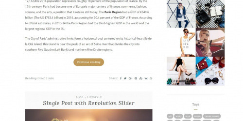 Anariel Lite - Free Clean, Modern & Minimalist WordPress Blog Theme