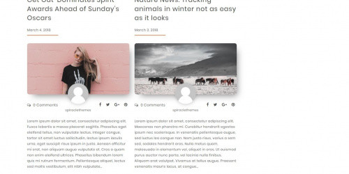 Elvinaa - Free Simple,  Modern & Minimal WordPress Blogging Theme