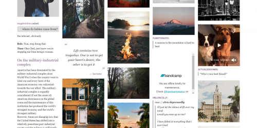 Masonify - A Tumblr theme for Photographers