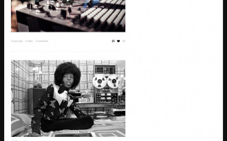Amplify 2 - Free Clean Tumblr Theme for Musicians