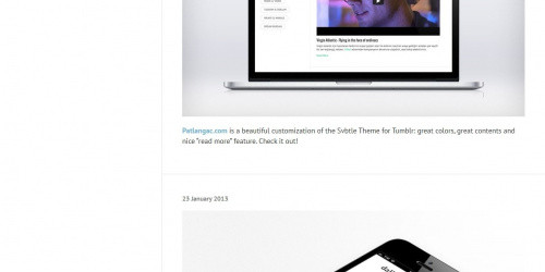 Svbtle - Free Responsive Tumblr Blog Theme