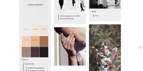 Fasofi - Free Three-column Tumblr Blog Theme