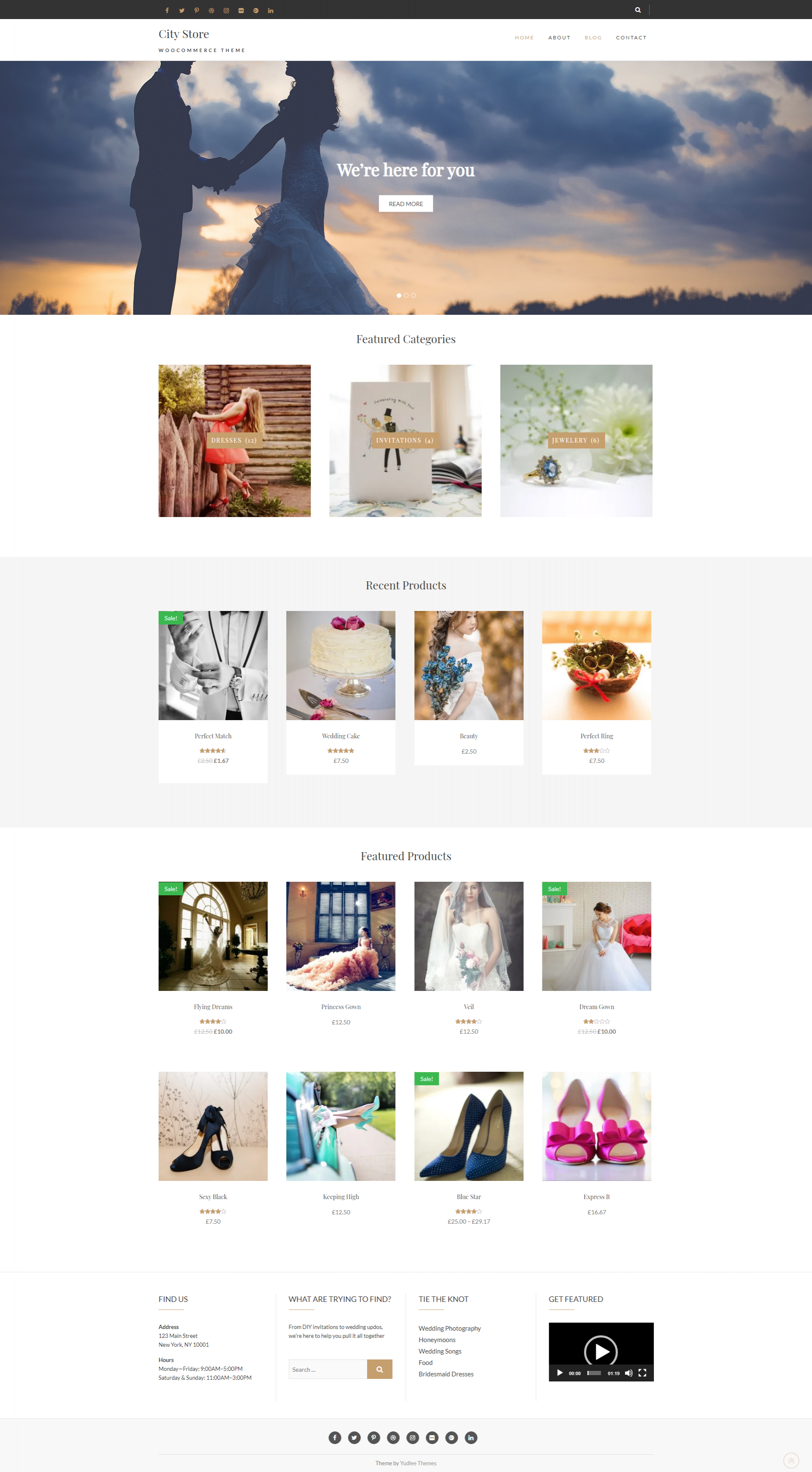 City Store - Free Simple and Clean WooCommerce Theme