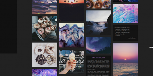 Theme 121 - Stylish responsive tumblr theme