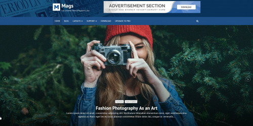 Mags - Free Elegant WordPress Magazine Theme