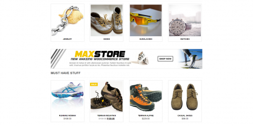 MaxStore - Free Clean & Simple WooCommerce Theme