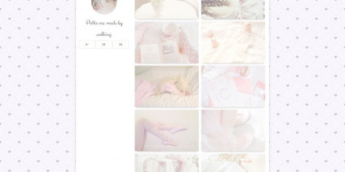 Petit - Free Clean Tumblr Theme