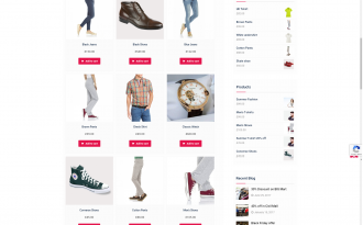 Easy Commerce - Free Clean & Well-designed WooCommerce Theme