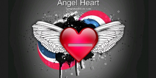 Angel Heart - Retro Blogger Template