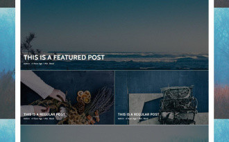 Riba Lite - Free Elegant WordPress magazine Theme