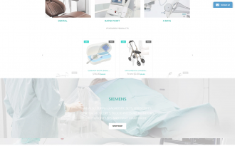 Medical Equipment - Free Medical & Clean Shopify Theme