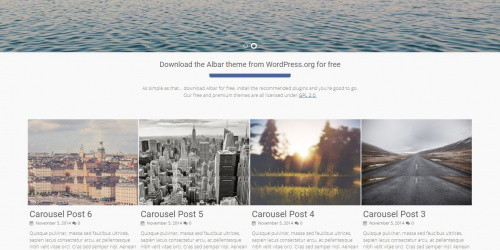 Albar - Free Multipurpose WordPress Theme