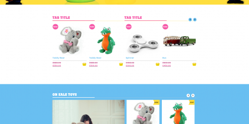 Kid Toys Store - Free Colorful & Modern WooCommerce Theme