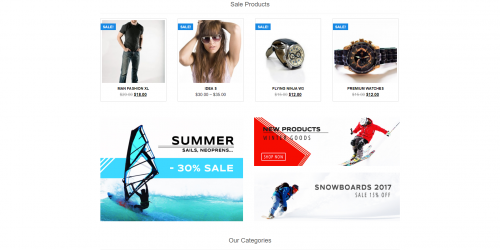 Online Store - Free Simple & Modern WooCommerce Theme