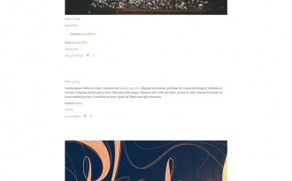 Explore - Free Single-column Tumblr Blog Theme