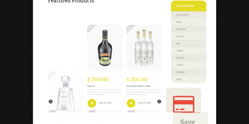 Alcoholic Beverage - Free Food & Beverages Shopify Theme