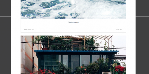 Min- Simple responsive Tumblr theme