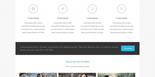 Asteria Lite - Free Clean WordPress Corporate Theme
