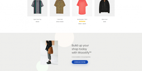 Woostify - Free Lightweight & Flexible WooCommerce Theme