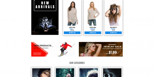Universal Store - Free Elegant & Simple WooCommerce Theme