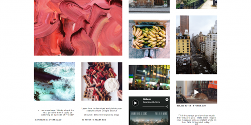 Vast - Responsive Tumblr theme